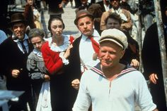 9 Unusual Facts About Popeye The Sailor Man That You Probably Didn't Know Popeye Movie, Paul Dooley, Robin Williams Movies, Popeye And Olive, Popeye The Sailor Man, Olive Oyl, Good Will Hunting, Unusual Facts, Best Supporting Actor
