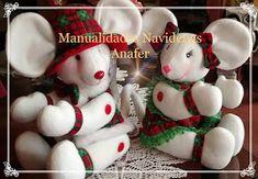 Manualidades Anafer: Cortineros Navideños Christmas Chair Covers, Sock Toys, Xmas, Christmas Ornaments, Toddler Toys, Snowman, Sewing Patterns, Holiday Decor, Outdoor Decor