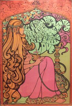 More ORANGE Illustrations at: http://www.pinterest.com/oddsouldesigns/illustrate-the-rainbow-orange/ #60s #psychedelic