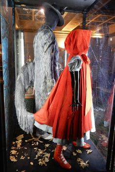 Into the Woods Wolf and Red Riding Hood movie costumes