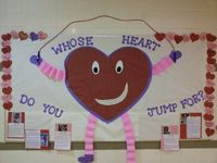 Teaching kids about the importance of making healthy choices and helping others with heart disease!