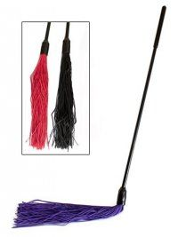 Buy Devil's Hair Teaser Rubber Flogger and other Gifts $29 & Under at GoodVibes.com. Good Vibrations - Promoting women trusted sexual health and pleasure with quality sex toys and service since 1977.