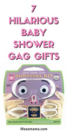 These gag gifts are great to give a friend with a sense of humor. I've always felt like gag gifts are a waste of money, but these are so funny, I would buy each one twice! Seriously.