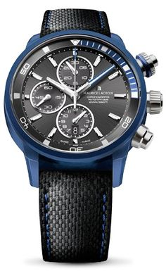 Maurice Lacroix Pontos S Extreme #MauriceLacroix Swiss Watchmakers #horlogerie @calibrelondon