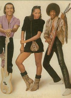 Howard Hewett, Jody Watley, and Jeffrey Daniel as Shalamar (1979)