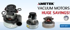 Our company provides vacuum/blower motors, vacuum cleaners, air filtration, pumps, parts, and accessories for many different industries. Some top brands we carry are: Ametek Lamb Vacuum/Blower Motors, Ametek Prestolite Motors, Atlantic Blowers, March Pumps, Oberdorfer Pumps, Shurflo Pumps, and many more.