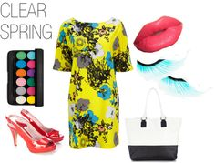 """""""CLEAR SPRING [2]"""" by clairecoloursme on Polyvore"""