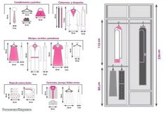 20 Ideas For Closet Vestidor Decoracion Custom Closet Design, Bedroom Closet Design, Wardrobe Design, Closet Designs, Wardrobe Closet, Master Closet, Closet Space, Closets Pequenos, Clothes Cabinet