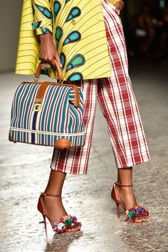 The Best Shoes, Bags, and Baubles on the 2015 Runways -- Stella Jean Spring 2015