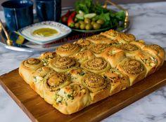 Manaishbullar Zeina, Spanakopita, Cheesesteak, Pesto, Tart, Brunch, Pizza, Dinner, Cooking