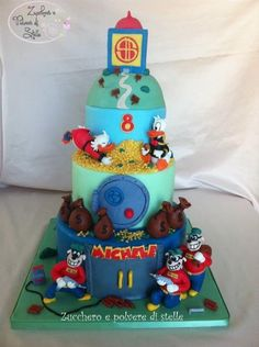 DuckTales Cake made by Zucchero e polvere di stelle