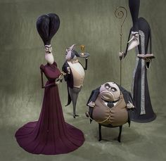 Handmade figures from cartoon Corpse Bride by Vint1k.deviantart.com on @DeviantArt