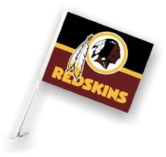 NFL Washington Redskins Car Flag with Wall Brackett by Fremont Die. Save 55 Off!. $16.73. Officially licensed NFL product.. Made from satin polyester. Two sided. Measures 14.5 by 11.5 inches. Easily attaches to your car. NFL Washington Redskins Car Flag with Wall Brackett