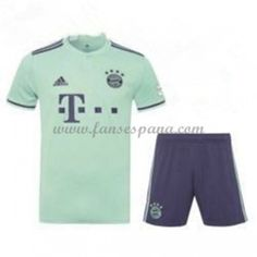 Camisetas De Futbol Niños Bayern Munich Segunda Equipación 2018-19 12d583b9224a4