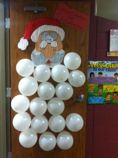 Put a fun Christmas activity in each balloon-kids pop one per day & then do the activity.