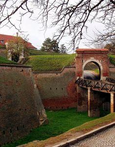 Petrovaradin Fortress in Novi Sad, Vojvodina, Serbia