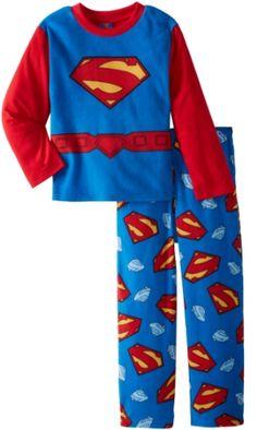 Superman Little Boys  4-10 Pajama Set 094222d68
