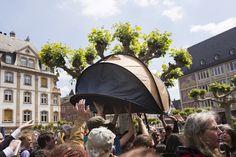 Blocupy, Francoforte, 17 maggio 2012