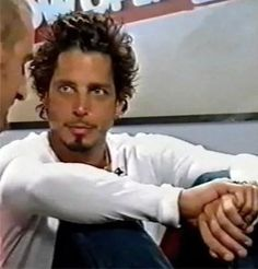 Chris Cornell you are ridiculously handsome and talented, yes he is