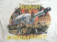 Vintage WEHRMACHT Tshirt/  RARE Original by sweetVTGtshirt on Etsy, $225.00