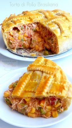 #tortadipollo #ricettabrasiliana #chickenpie http://blog.cookaround.com/kitchenbrasita/torta-di-pollo-brasiliana/2015/01/torta-di-pollo-brasiliana.html?doing_wp_cron=1421951045.5187449455261230468750 #empadaodefrango