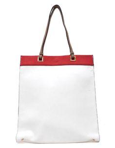 White Riley Tote | Emma Stine Jewelry Set