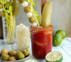Dill Pickle Bacon Bloody Mary - http://noblepig.com/2017/03/dill-pickle-bacon-bloody-mary/