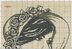 GRAFICOS PUNTO DE CRUZ GRATIS : MONOCROMO(42)