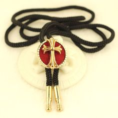 NEW LARGE  RED INDIAN CHIEF HEAD BOLO BOOTLACE TIE SILVER METAL PEWTER WESTERN