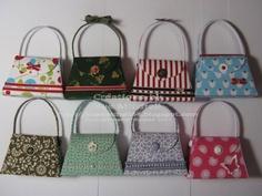 Stampin up petite purses