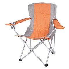 ZallZo Pure Weather High-back Folding Camp Chair Color: