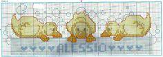 Cross Stitch Needles, Cute Cross Stitch, Cross Stitch Alphabet, Cross Stitch Animals, Cross Stitch Charts, Chain Stitch, Cross Stitch Designs, Cross Stitch Patterns, Baby Kind