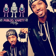 """Public Vanity """"Dope Evidence Collection""""  By giving you a higher definition of design quality, and design concepts in our garments we make you an individual instead of blending into the crowd. Pvclothing.com join the innovation of street fashion.#PublicVanityClothing #VanityBeenie #DopeEvidence #robots #dope #winter #innovation  #creativity  #art #urbanfashion #happiness #ArtisticExpression #faith #blessing #success #PV #DopeRobot #DopeFashion #Karmaloop #LosAngeles #quality #swagg #crezz…"""