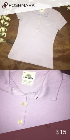 LACOSTE WOMEN POLO GOOD CONDITION! NO STAINS NO HOLES !⭐️PRICE FIRM⭐️ Lacoste Tops Blouses
