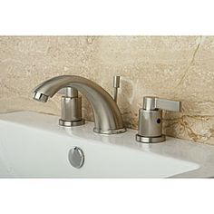 Bathroom Faucets Easy To Clean karna centerset bathroom faucet | faucet, brushed nickel and products