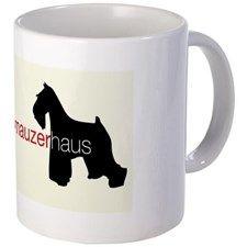 Mini Schnauzer Haus Coffee Mug
