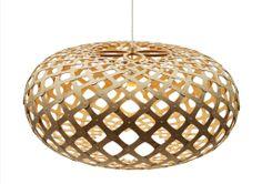 Kina Bamboo Suspension Light by David Trubridge