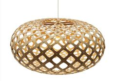 Kina Bamboo Suspension Light by David Trubridge