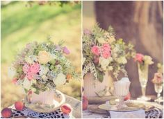 Flowers For A Vintage Wedding