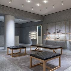 """David+Chipperfield+creates+""""palazzo+atmosphere""""+for+Valentino+store+in+London"""