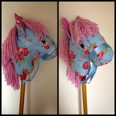 how to make a stick horse pattern