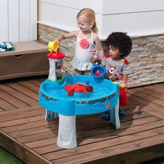 Water Table Paw Patrol Kids with Toy Toddler Summer Activity Outdoor Play Center Kids Water Table, Kids Play Table, Sand And Water Table, Water Tables, Paw Patrol Lookout, Paw Patrol Pups, Little Tikes, Toddler Toys, Kids Toys