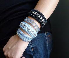 entretejiendo: pulseras