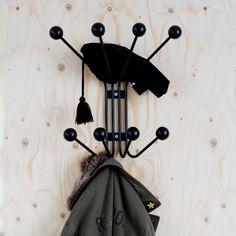 Krok Bill stor svart - Knoppar & krokar - Hall & förvaring - Produkter - Designtorget