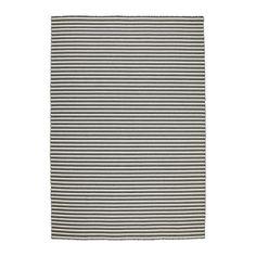 120,00 Euros  IKEA - VESTBIRK, Tapete, tecelagem plana, , O tapete é feito de pura lã virgem, um material que repele naturalmente a sujidade e é muito duradouro.Tecido à mão por artesãos especializados, cada peça é única. Feito na Índia, em centros de tecelagem com boas condições de trabalho e salários justos.O tapete tem o mesmo padrão dos dois lados, por isso vire-o para um desgaste mais uniforme e para durar mais.