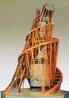 Model of the monument III International - Vladimir Tatlin