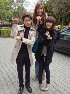 Annie Chen & George Hu with Mandy Love Now, My Love, George Hu, Asian Actors, Best Actor, Korean Drama, Chen, Dramas, All Star