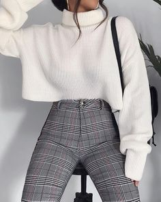 Fashion outfits Outfits Winter outfits Fashion Elegant outfit Sixth form outfits - 100 Outfits I like and I will definitely try - Casual Winter Outfits, Winter Fashion Outfits, Look Fashion, Stylish Outfits, Fall Outfits, Womens Fashion, Outfit Winter, Summer Outfits, Fashion Clothes