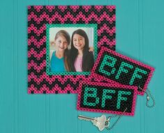 BFF Frame and Key Fobs