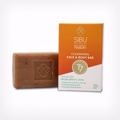 Wash away a day of stress and pollutants with pure, simple and effective Sea Berry Cleansing Face & Body Bar.  This facial bar lathers thick and rich to cleanse, detox, moisturize and repair the s